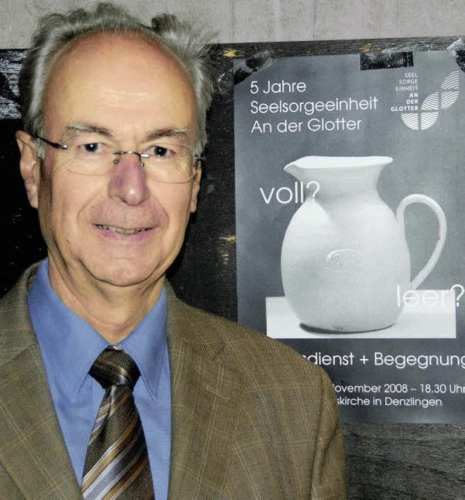 Pfarrer Hermann Vogt  | Foto: mzd