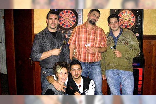 27 Teilnehmer bei Dart-Turnier