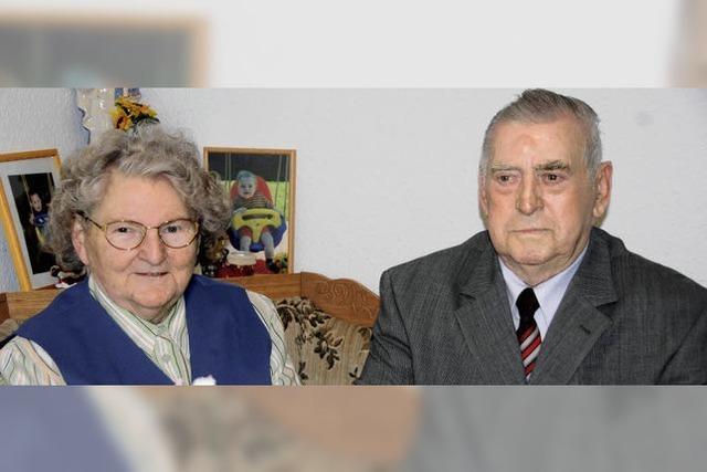 Sechs Jahrzehnte gemeinsam durchs Leben