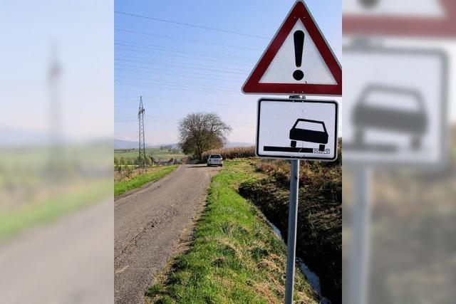 Fahrbahn wird überteert