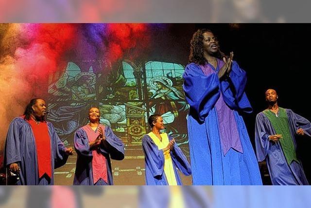 Gospel-Singers versprühen Lebensfreude