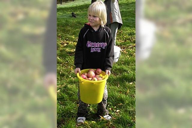 Pit macht Apfelsaft