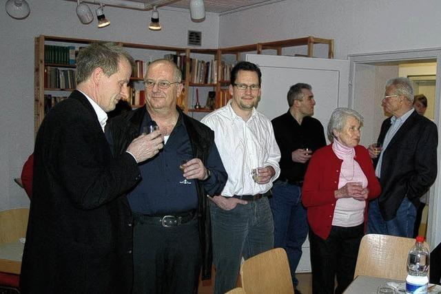 Zum Helferfest gab es Irish Stew im Pfarrhaus