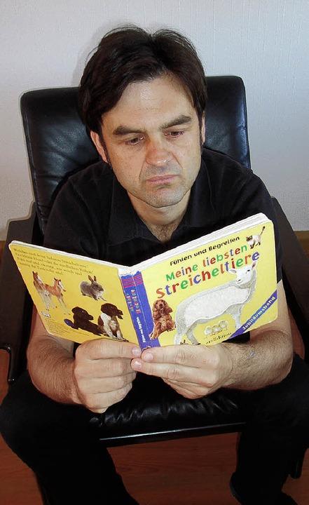Liest nicht nur die eigenen Bücher: Ralf Welteroth     Foto: bz