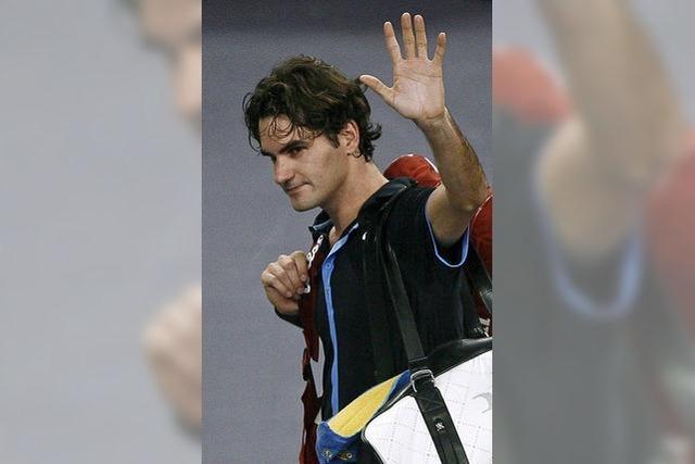 Federer kann den Urlaub buchen