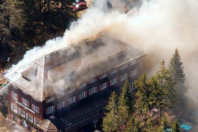 Neubau des abgebrannten Hotels am Mummelsee