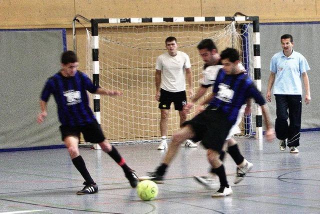 Integration durch Sport: Sich kickend kennenlernen