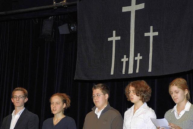 Die Jugend blieb der Friedensarbeit fern