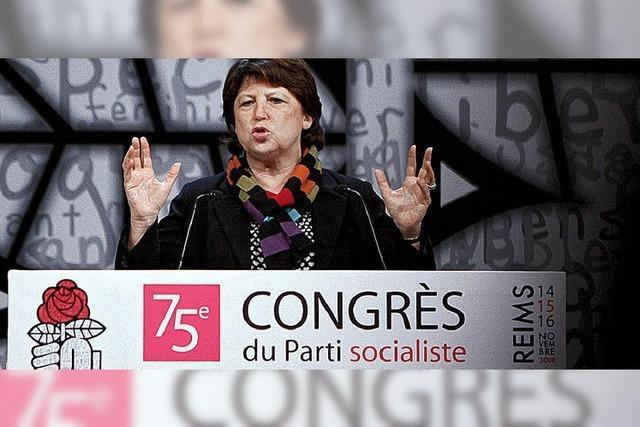 Damenwahl bei Frankreichs Sozialisten