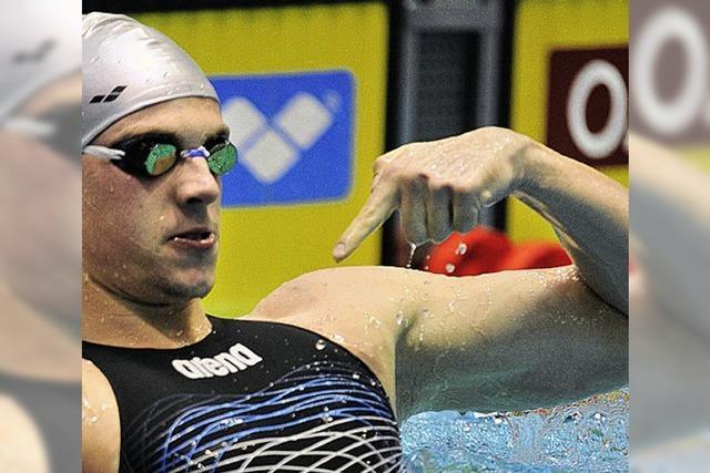 Biedermann schwimmt Weltrekord