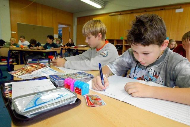 Wenn Kinder nicht schreiben lernen