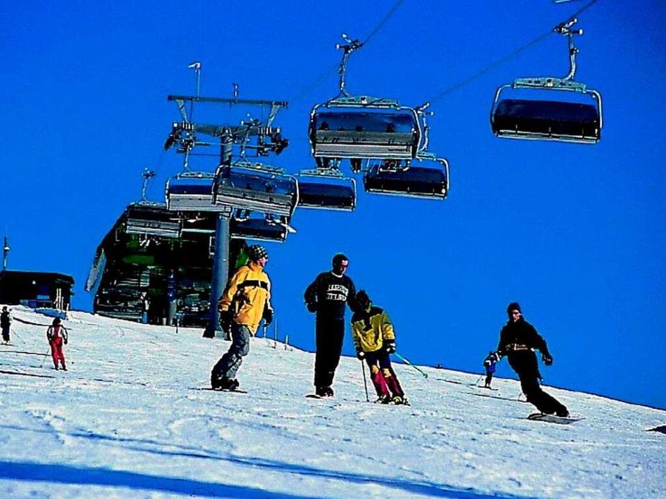 Wintersport am Feldberg  | Foto: BZ