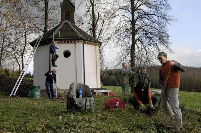 Kapellenwiese soll erblühen