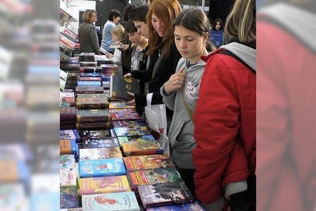 Besuch auf der Buchmesse