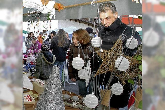 Wintermarkt mit mehr als 50 Händlern