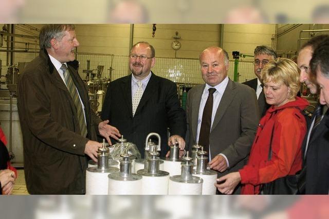 FDP besuchte Gütermann