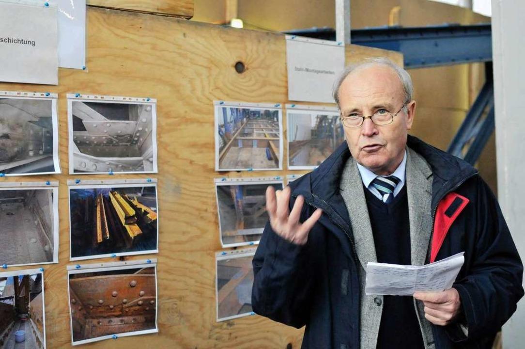 Er gilt Brückenpapst: Professor Wolfgang Graße war Gutachter für die Stadt.    Foto: Ingo Schneider