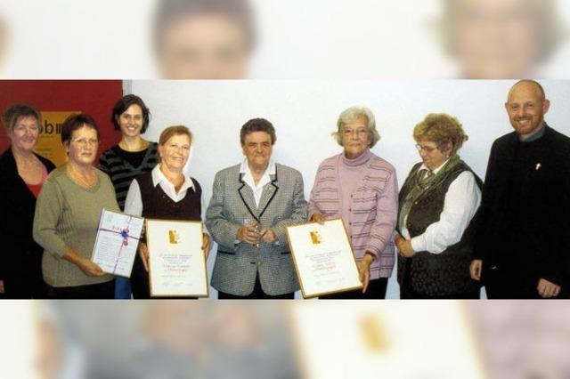 Rita Baumann singt seit 60 Jahren mit