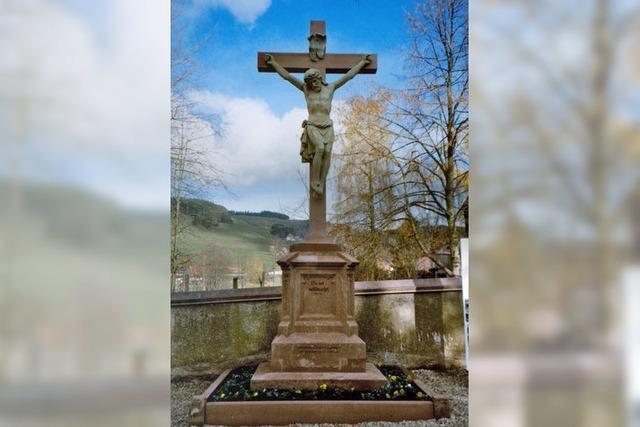 Kreuze wurden restauriert