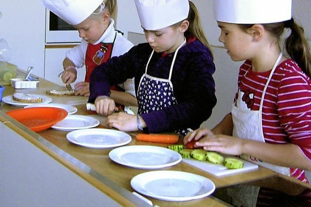 Ernährungsführerschein für Ruster Grundschüler