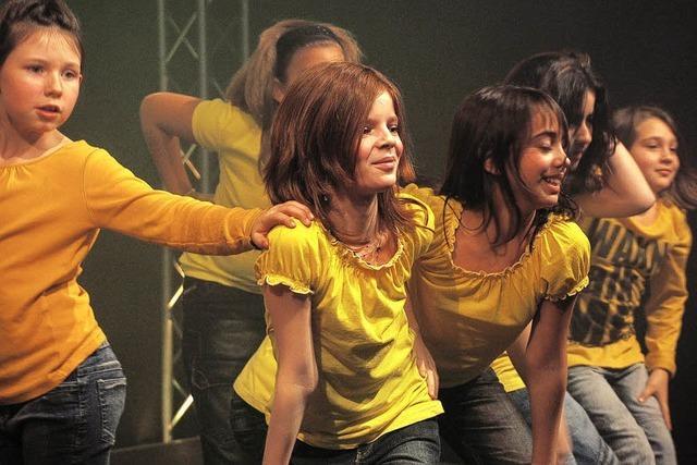 Tanz-Manie der Schüler