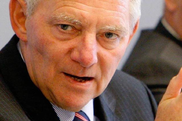 Schäubles Idee wird immer schärfer kritisiert