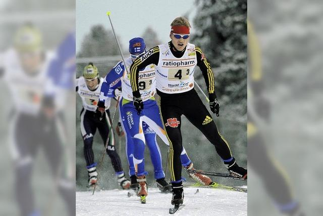 Deutsche Skilangläufer starten verhalten