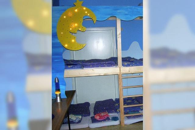 Vier neue Schlafplätze in Kita Kunterbunt