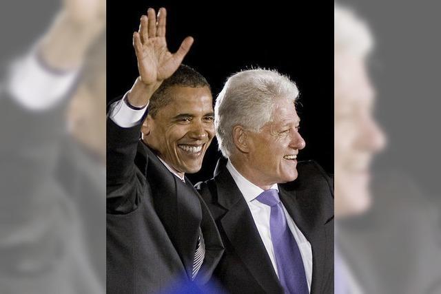 Die Clinton-Jahre werden recycelt