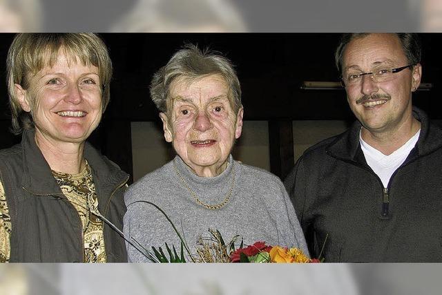 75 Jahre im Kirchenchor