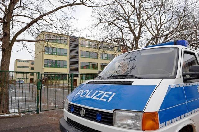 Amoklauf-Drohung an Erfurter Schule