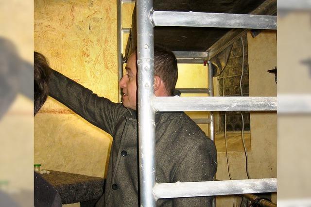 Fresken werden aufgefrischt