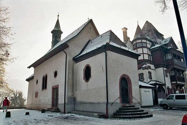 Schloss-Café und Kapelle werden Denkmal