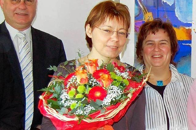 Viel Lob für Dorfhelferin Karin Neeff
