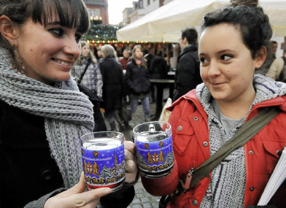 Glühweinpreise Weihnachtsmarkt.Glühweinpreis Steigt Um 25 Prozent Freiburg Badische Zeitung