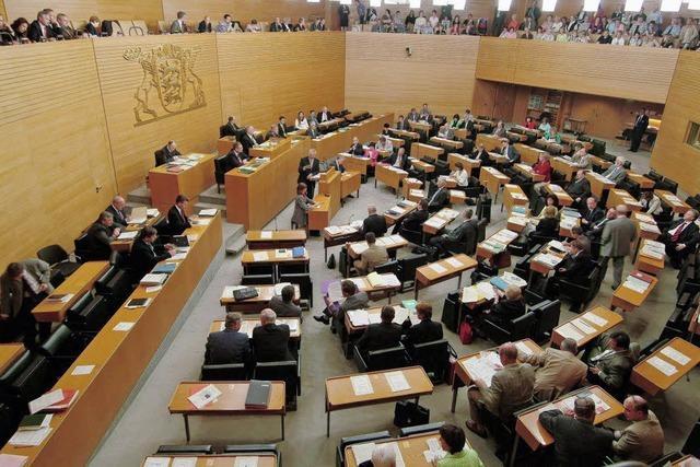 Was darf ein sauberer Landtag kosten?