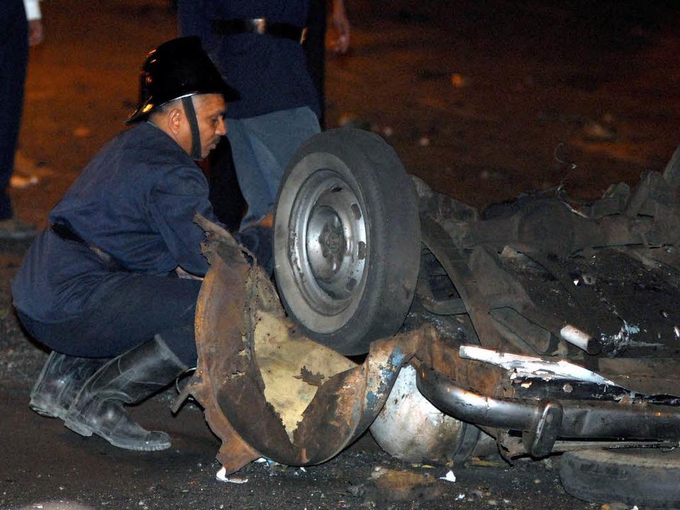 Bomben erschütterten das Zentrum der Finanzmetropole Bombay in Indien.  | Foto: dpa