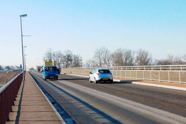 Freie Fahrt auf der Rheinbrücke