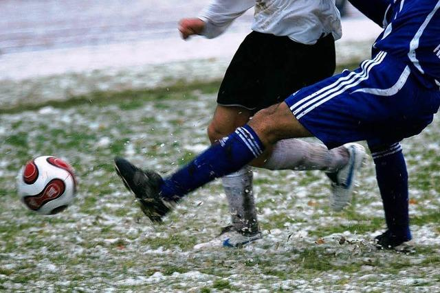 Der Fußball macht, was er will