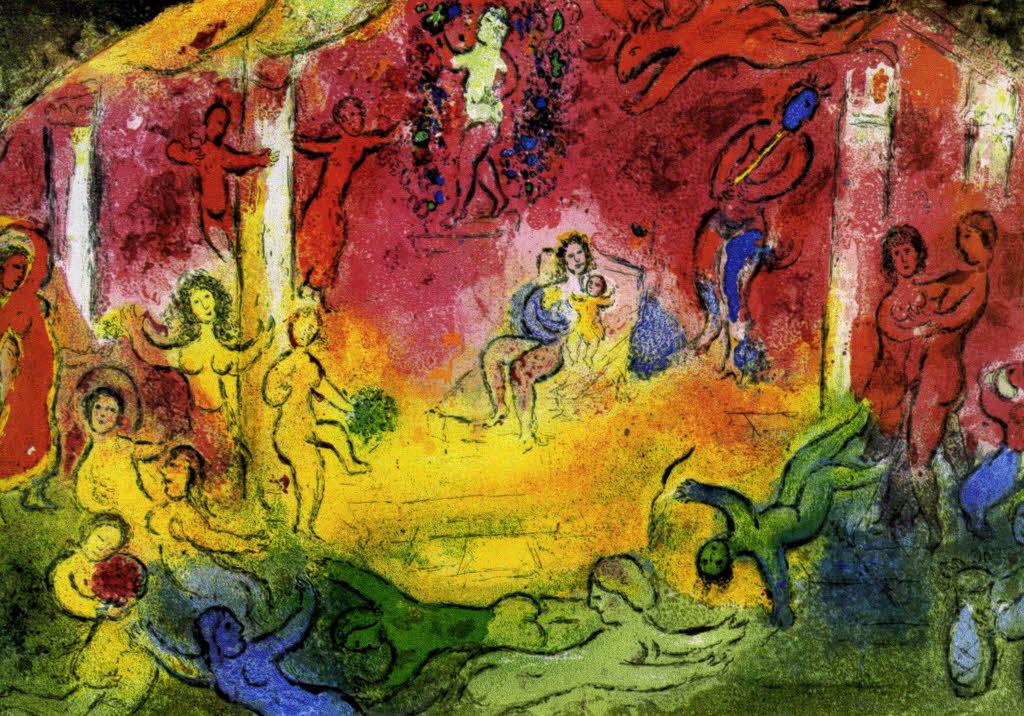 Bz Plus Chagall Dreidimensional Freizeittipps Badische Zeitung