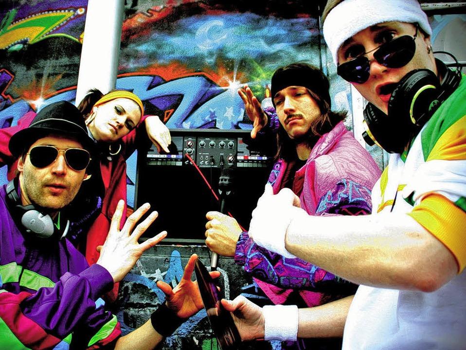 Die Fantastischen Vier von Rockrainer ...re Parodie des 80er-Jahre-Actionfilms   | Foto: pr