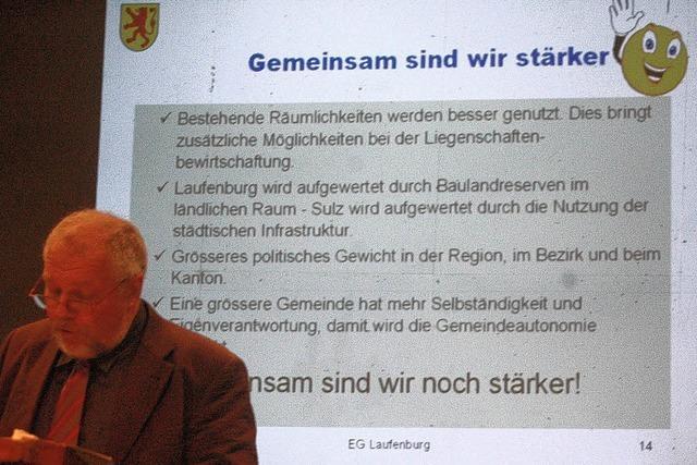 Laufenburg und Sulz vor dem Ja-Wort?