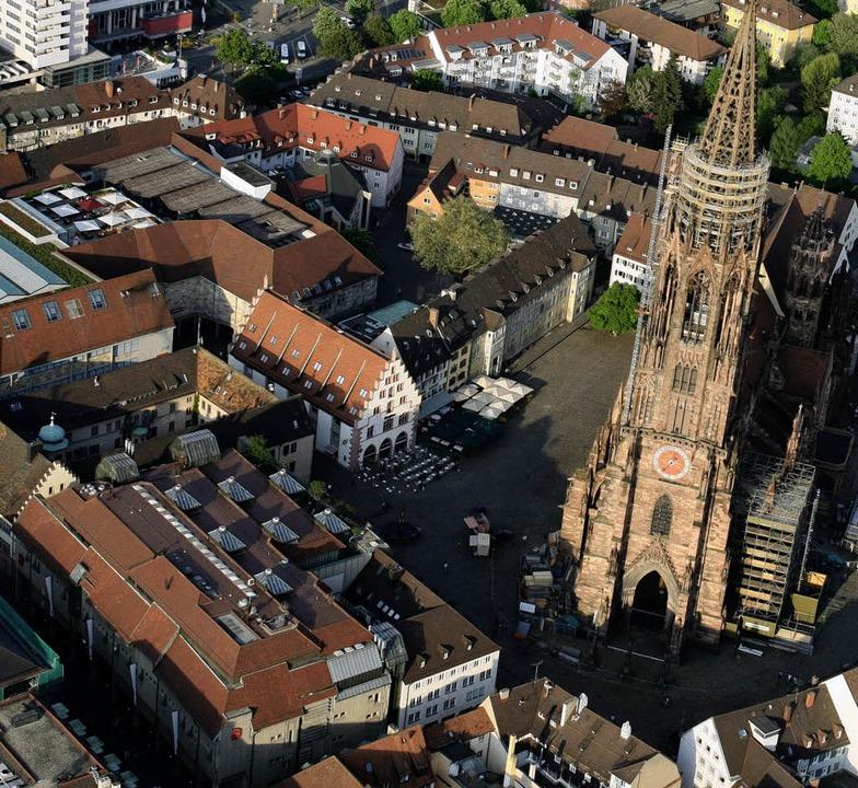 Freiburg ist einer der Top-Standorte  ...inanzkrise keine negative Entwicklung.  | Foto: Rita Eggstein