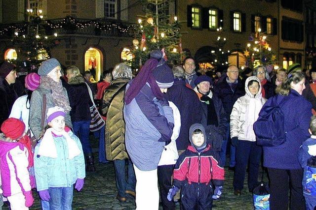 Winterzauber in Staufen