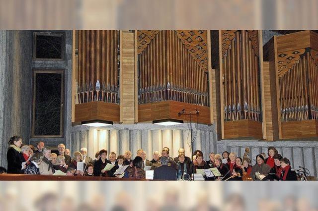 Orgel, Flöten, Streicher