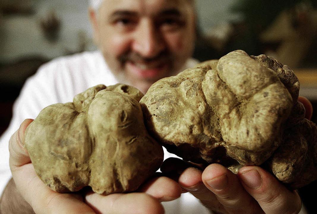 Die teuersten Speisepilze der Welt: Weißer Trüffel aus der Toskana