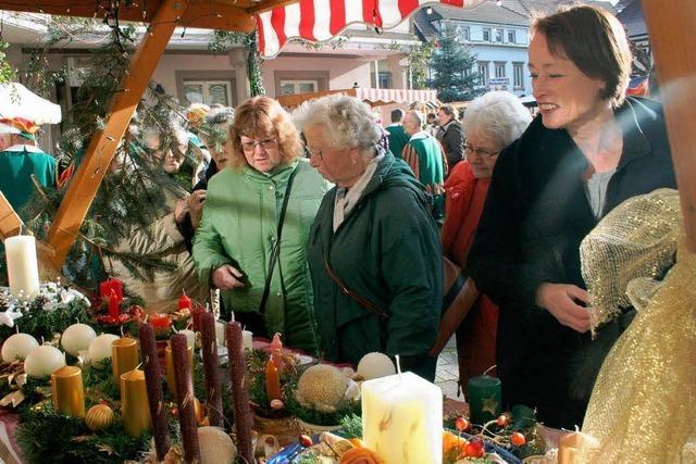 Fantasievoller Weihnachtsmarkt