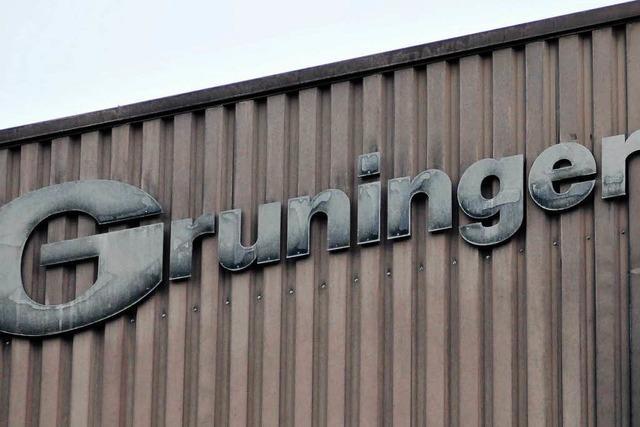 Gruninger: Technischer Defekt war schuld am Brand