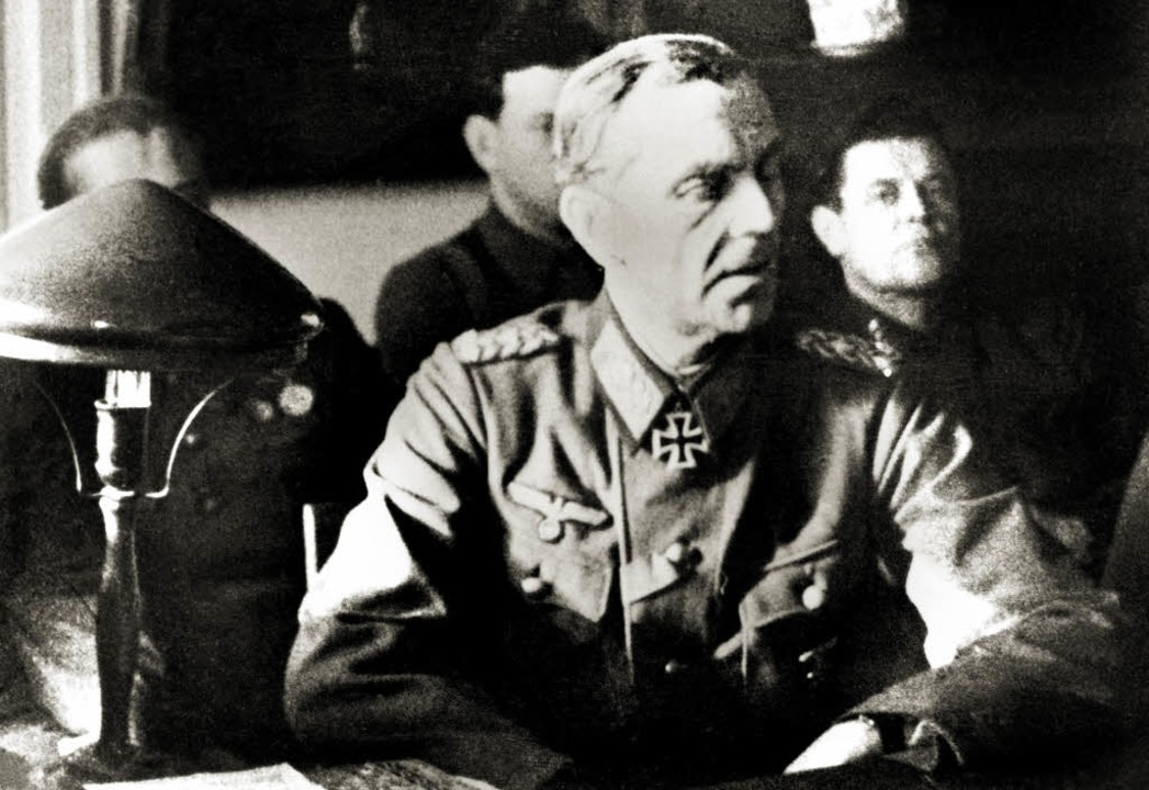 Bei der Befragung durch die Sowjetarmee: Friedrich  Paulus 1943.   | Foto: afp