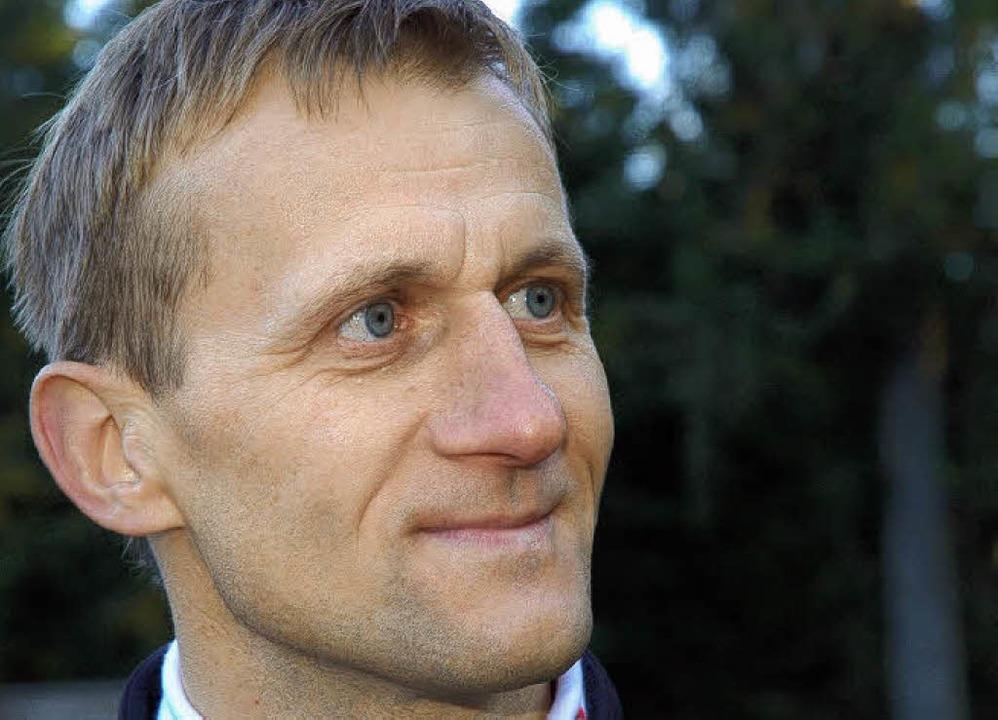 "Hauswald ist überzeugt: ""Simon S... marschieren Richtung Weltcup.""   | Foto: Johannes Bachmann"